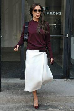 New York - February 10 2014  Victoria Beckham.