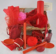 Colour Recognition Baskets   Red