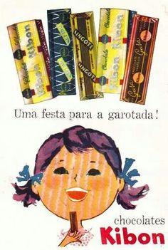 Chocolates Kibon.