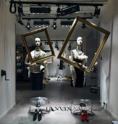 LANVIN - Window Display