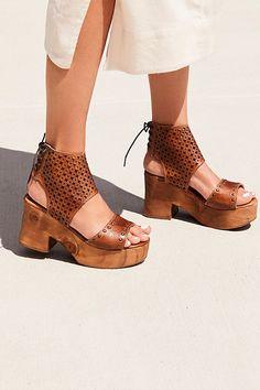 Slide View 1  Mollie Platform Clog Leather Clogs, Fall Shoes, Summer Shoes, 7b337cbe1e