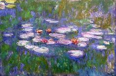 Los nenúfares (Monet) - Nenúfares (Monet) - Wikipedia, la enciclopedia libre