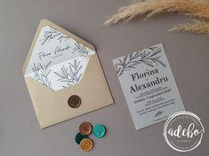 Invitatie nunta carton translucid