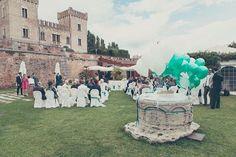 Wedding in Tiffany colours http://bit.ly/MatrimoniCastello