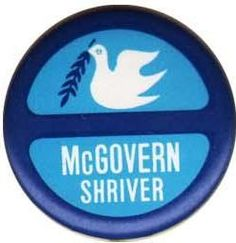 George McGovern 1972 -  the first election after the voting age was lowered to 18