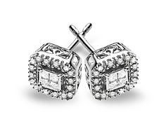 The perfect pair of diamond studs is a timeless, must-have for any jewelry lover. These chic earrings feature ct of sparkling princess cut diamonds in a glistening white gold setting. Pieces measure by inches. Diamond Studs, Diamond Earrings, Stud Earrings, Princess Cut Diamonds, White Gold Diamonds, Jewelry Stores, Bridal Jewelry, Gifts For Her, Bling