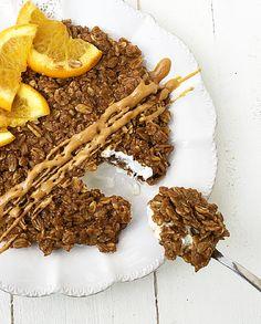 Porridge al caffè con infuso di arancia e cannella #Vegan. - Delicious Breakfast