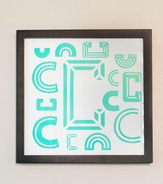 Letter C Wall Art
