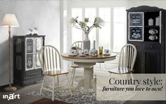 Month's inspiration January 2017 | Country style: furniture you love to own!