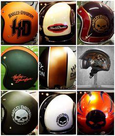 Harley Helmet Collection