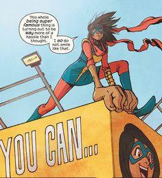 (Ms. Marvel Vol 4 #2, 2015) - Takeshi Miyazawa