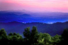 Asheville North Carolina Sunset Photograph by Gray Artus ...