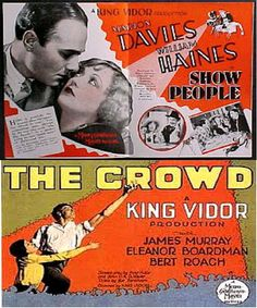 King Vidor: Show People, The Crowd (1928), Our Daily Bread (1934)  Free Ship