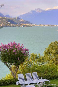 Lago di Garda - Italy by Keith Nisbet