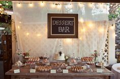 Cut Glass and Domes Dessert Bar with Dot Cake #weddingcakes #weddingcake #yum