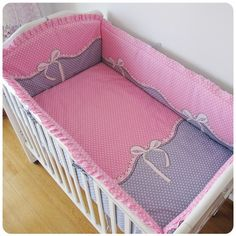 Sweet Jojo Designs Pink White Chevron 11pc Crib Bedding Set Pink