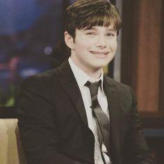 He's so cute chriscolfer