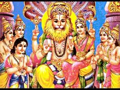 Narasimha - Löwen-Avatar - Hinduismus Wörterbuch
