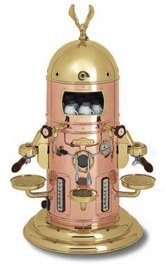 Elektra Belle Epoque - Italian coffee machine  (it looks like a robot)