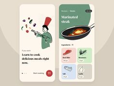 Book of recipes Hey! :) I created a concept screen for the app. Let me know what you think. Press L if you like it 0 views 72 likes 8 saves Ui Design Mobile, App Ui Design, User Interface Design, Flat Design, Design Design, Android App Design, App Design Inspiration, Daily Inspiration, Application Design