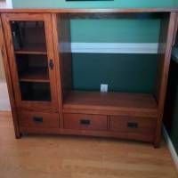 Repurpose old tv cabinet resized repurpose tv stands . repurpose old tv cabinet Old Entertainment Centers, Entertainment Center Makeover, Entertainment System, System Furniture, Furniture Projects, House Projects, Wood Projects, Buffet Dessert, Old Tv Stands