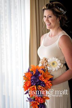 Michelle looking beautiful with her bouquet at Sandos Caracol Eco Resort Bridal Portraits, Bouquet, Wedding Photography, Gallery, Beautiful, Fashion, Moda, Roof Rack, Fashion Styles