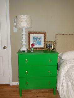 Improvement List: Make More Storage in my Bedroom: Dressers as Nightstands