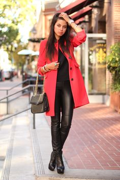 VivaLuxury - Fashion Blog by Annabelle Fleur: SAN DIEGO DIARY   RED DAY