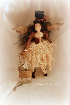 Fidelia by Lavender & Lark - Faerie art doll