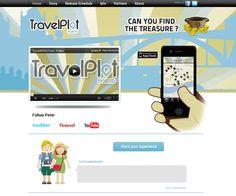 Travel Plot - Website made by WebComum #website #webdesign #travelplot #travel #plot