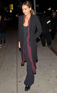 Jessica Alba from The Big Picture: Today's Hot Pics  The actress arrives at The Nice Guy restaurant in West Hollywood.