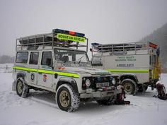 MOUNTAIN RESCUE - Funny how the environmentalist complain about 4x4's until they are needed to rescue someone?