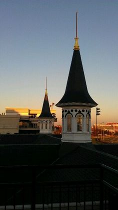 Churchill Downs Twin Spires at Sunset: Louisville Favorite, Kentucky Memories, Favorite Places,