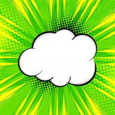 Abstract bright green comic background F. Arte Pop, Fond Pop Art, Desenho Pop Art, Disney Princess Cartoons, Balloon Words, Planets Wallpaper, Looney Tunes Cartoons, Hippie Art, Comic Styles