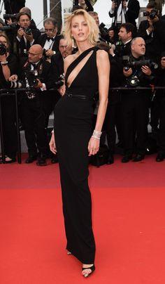 Anja Rubik in Saint Laurent at Cannes Film Festival 2019 Anja Rubik, Tilda Swinton, Atelier Versace, Léa Drucker, Vogue Paris, Zac Posen, Bijoux Chopard, Jennifer Lopez, Victoria Beckham
