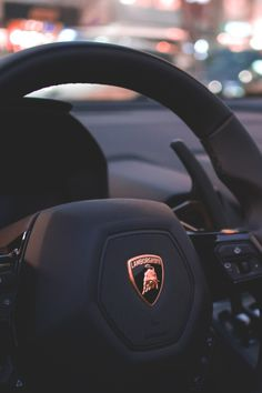 The Lamborghini Huracan was debuted at the 2014 Geneva Motor Show and went into production in the same year. The car Lamborghini's replacement to the Gallardo. Lamborghini Veneno, Lamborghini Diablo, Lamborghini Logo, Huracan Lamborghini, Ferrari, Lamborghini Interior, Lamborghini Photos, Luxury Sports Cars, Supercars