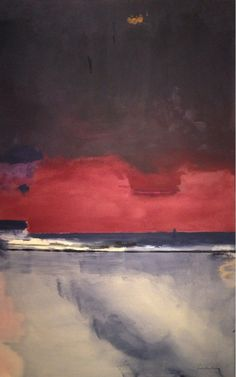 Helen Frankenthaler, midnight shore on ArtStack #helen-frankenthaler #art