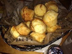 JIM N NICK'S cheesy biscuit/muffins are amazing