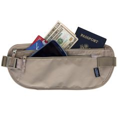 Frank Jhd New Travel Waist Pouch For Passport Money Belt Bag Hidden Security Wallet Black Home