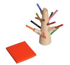 Fabrian Wooden Color Pencil Tree!