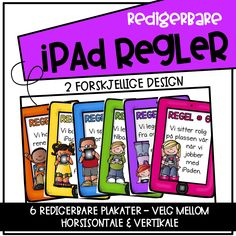 Beskyttet: Regelplakater for iPad