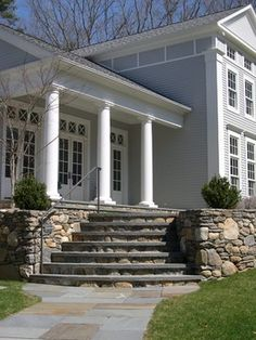 Beautiful Greek Revival home in Essex, CT traditional exterior