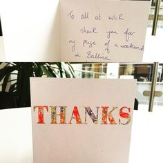 So lovely to receive this thank you card from one of our competition winners! It's the little things :) #LifeAtWLR #radio #Waterford #winner #ThankYou #ItsNiceToBeNice