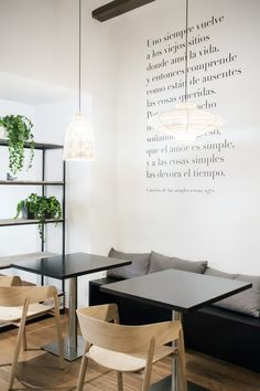 Oslo restaurant, Borja Garcia studio