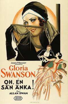 Not specifically a foreign film unless you live in France etc....But Gloria Swanson after all....Foreign movie poster, Gloria Swanson