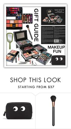"""""""Makeup Fun"""" by queenofsienna ❤ liked on Polyvore featuring beauty, Anya Hindmarch and MAC Cosmetics"""
