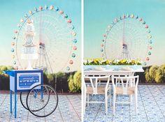 4 Watercolor Hochzeit Tischdeko Inspiration Cobalt Blue Lemon Yellow Wedding DIY Watercolor Hochzeit Tischdeko Inspiration   Cobalt Blue & Lemon Yellow Wedding