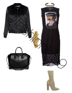 """""""Untitled #1490"""" by fashionlab9 on Polyvore featuring McQ by Alexander McQueen, adidas Originals, Glamorous, Givenchy and Rolex"""