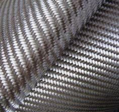 "Real Carbon Fiber Cloth Fabric 2x2 Twill 3K - 5.7 oz. - 20"""