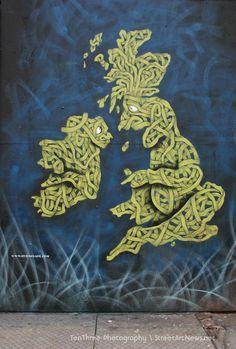 Otto Schade, Osch, Street Art #Osch #Streetart #London